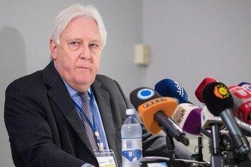 Enviado especial do secretário-geral das Nações Unidas para o Iêmen, Martin Griffiths.