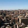 Majengo ambayo hayajakamilika mjini Cairo Misri.