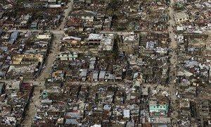 Uharibifu baada ya kimbunga Haiti