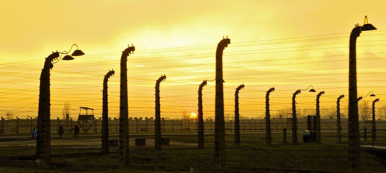 Le camp de concentration d'Auschwitz-Birkenau, en Pologne. Auschwitz est devenu un symbole de la terreur, du génocide et de l'Holocauste.