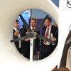 Une éolienne de nouvelle génération exposée au pavillon autrichien à la COP24.