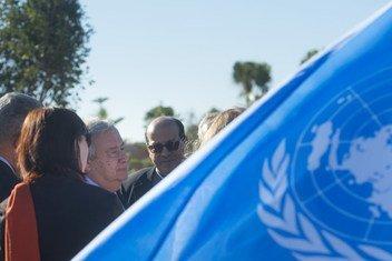 Chefe da ONU destaca que o futuro depende da solidariedade, e que é preciso consertar a confiança quebrada