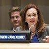 联合国大会第73届主席埃斯皮诺萨。