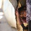 Mkimbizi wa Palestina akiishi kwenye makazi ya UNRWA katika Kambi ya Khan Dunoun, Syria.