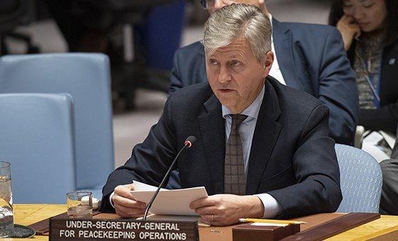 Jean-Pierre Lacroix vai reunir com autoridades e instituições do Haiti, bem como representantes da ONU no país.