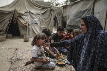 Una de cada nueve personas en el mundo sufre de hambre.