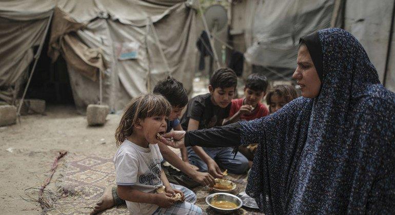 La inseguridad alimentaria está al alza en Gaza, por lo que la ayuda humanitaria es crítica para proteger a palestinos vulnerables.