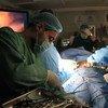 Intervención quirúrgica en un hospital de Mosul, en Iraq.