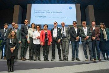Plusieurs entreprises du secteur vestimentaire ont pris l'engagement à la Conférence de l'ONU sur le climat (COP24) à Katowice, en Pologne, d'agir contre les changements climatiques.
