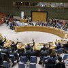 Les membres du Conseil de sécurité des Nations Unies adoptent à l'unanimité la résolution 2451 sur le Yémen. 21 décembre 2018.