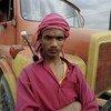 A young Bangladeshi truck driver.