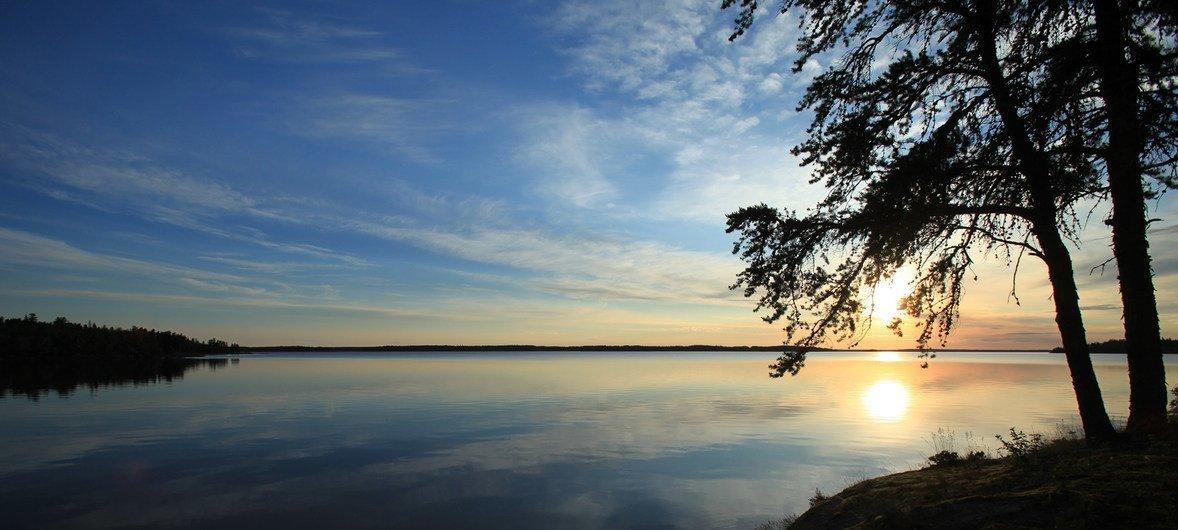 """""""赋予生命的土地"""":加拿大皮玛希旺·阿奇地区。"""