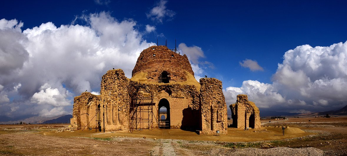 Sassanid Archaeological Landscape of Fars Region, in the Islamic Republic of Iran, listed as a UNESCO World Heritage Site in 2018.