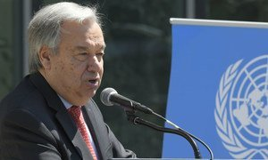 O secretário-geral fez um apelo para que a violência seja evitada a qualquer custo.