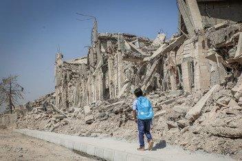 Uma das tendências apontadas pelo Ocha são os ataques a escolas e hospitais.