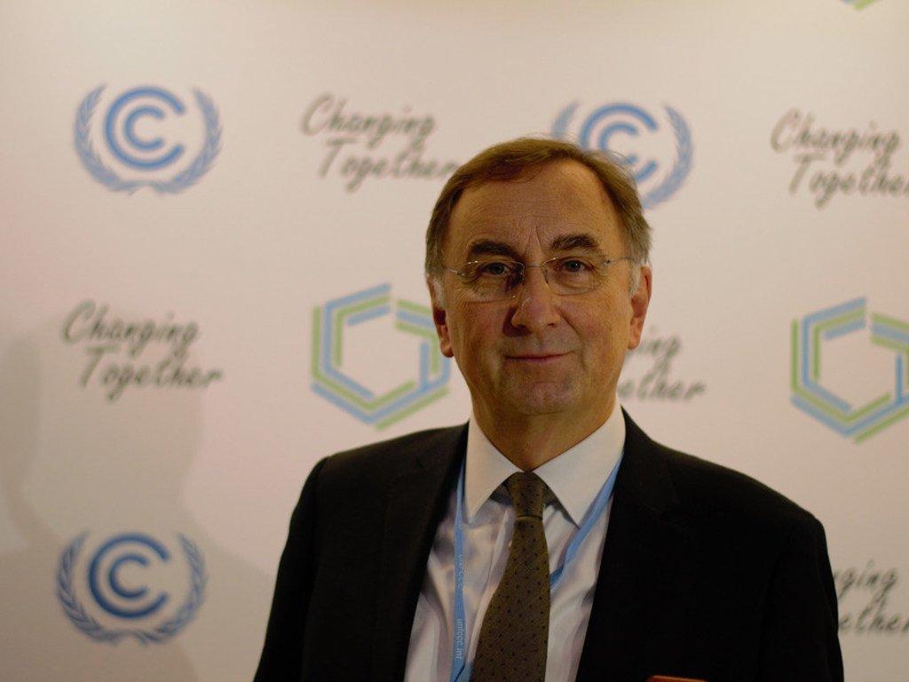 卡内基气候地球工程治理倡议执行主任乔纳斯·帕斯佐特。