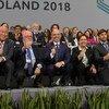 Sesión plenaria de clausura de la COP24 en Katowice, Polonia.