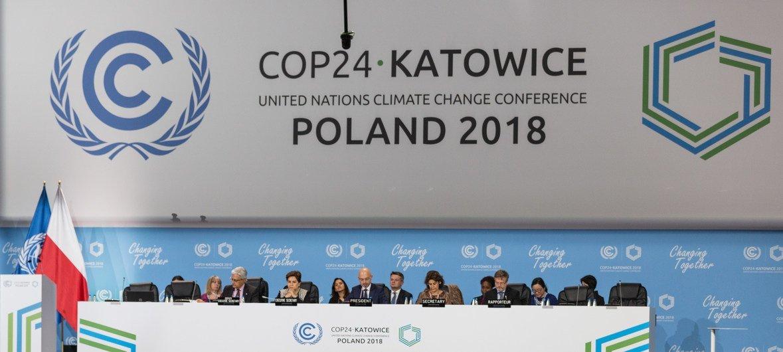 Plenaria de apertura de la COP24
