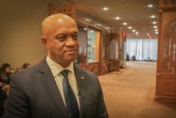 Ministro dos Negócios Estrangeiros e Comunidades de Cabo Verde, Luís Filipe Tavares.