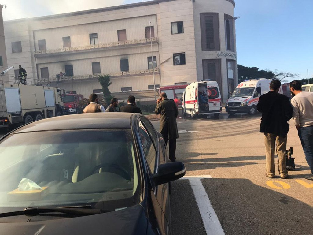 libya: attack on foreign ministry, an attack on all libyans
