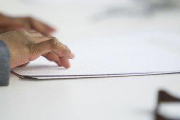 Sistema permite que cegos e pessoas com deficiência visual possam ler e escrever
