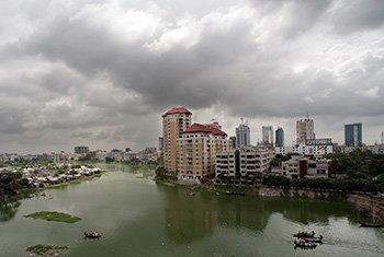 View of the city of Dhaka, Bangladesh. (file)