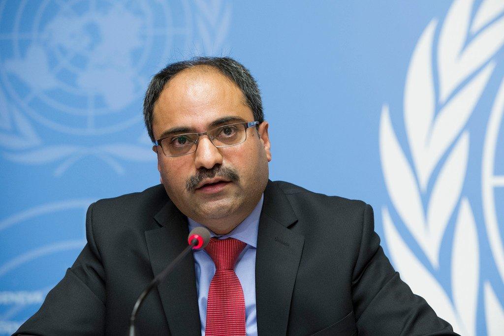 Babar Baloch, porte-parole du Haut-Commissariat des Nations Unies pour les réfugiés à Genève (photo d''archives)