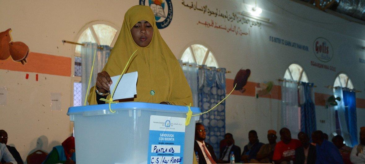 Eleições na Somália em 2016