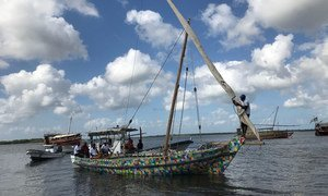 The FlipFlopi dhow, a 9-metre traditional sailing boat made from 10 tonnes of discarded plastic, will be the first boat of its kind to launch a world expedition on 24 January, 2018.