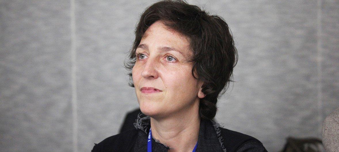 联合国环境规划署城市部门负责人奥托(Martina Otto)。