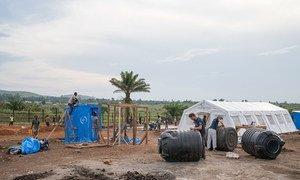 Unidade de Tratamento de ebola em Komanda, província de Ituri, no leste da República Democrática do Congo.