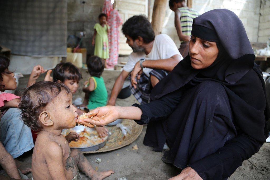 عند اندلاع القتال في عام 2015، كان اليمن يعتبر أحد أفقر البلدان في العالم