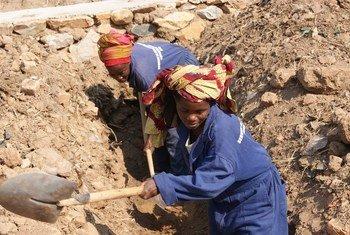 إعادة الإعمار المجتمعي في بوروندي
