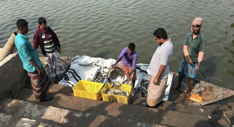 Большинство из 120 миллионов работников рыбохозяйственного сектора трудятся в опасных условиях, нередко по 20 часов в сутки