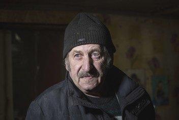 Благодаря помощи ООН 64-летний житель Донецкой области сможет платить за электричество.