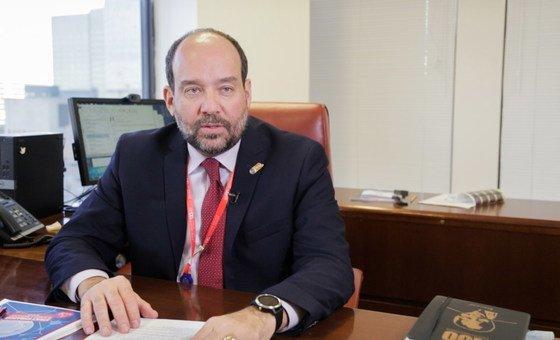 Vinícius Pinheiro, diretor do Escritório da OIT em Nova Iorque.
