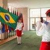 Grupo de 13 estudantes foi selecionado entre os melhores alunos do Sistema de Colégio Militar do Brasil