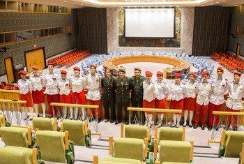 联合国导览游详细介绍安理会的运作方式。(资料图片)