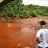 巴西巴塔树(Pataxó)土著人村庄位于布鲁马迪霍市的一座决堤的尾矿坝附近。