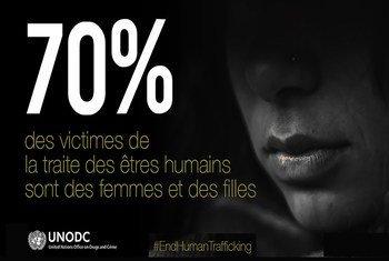 Nouveau rapport de l'ONUDC sur la traite des personnes 2018