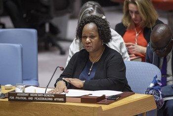 La Sous-Secrétaire général aux opérations de paix, Bintou Keita, informe le Conseil de sécurité de la situation au Mali.