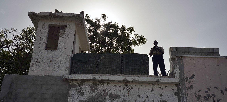 Представительство ООН в Могадишу, Сомали (архив, июнь 2013 года)