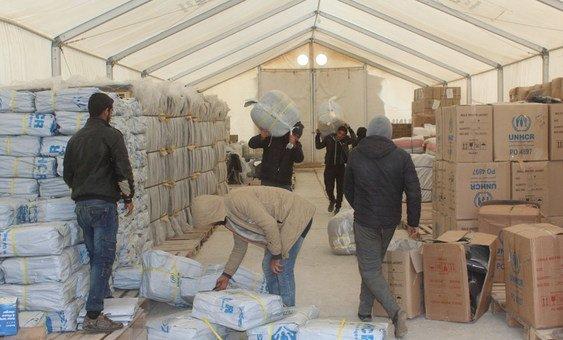 Nas últimas cinco semanas, mais de 8,5 mil pessoas chegaram no acampamento de Al Hol, na Síria.