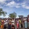 Wakimbizi wa Burundi katika  makazi ya Mulongwe huko Kivu Kusini nchini Jamhuri ya Kidemokrasia ya Congo, DRC.