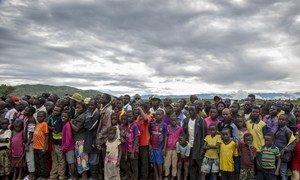 Burundian refugees at the Mulongwe settlement in South Kivu, Democratic Republic of the Congo. (file)