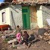 बुल्गारिया में रोमा समुदाय के बच्चे.