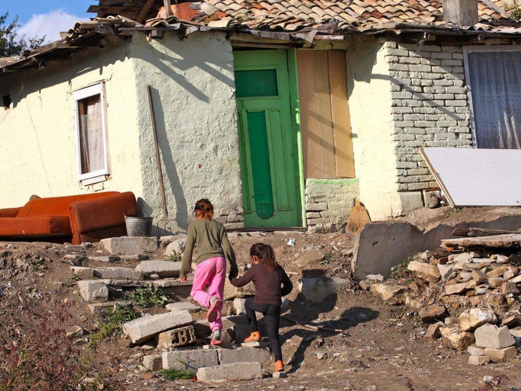 Des enfants dans la ville de Shumen, dans le nord de la Bulgarie (2013)