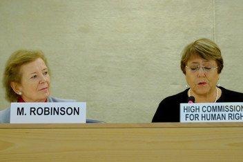 Alta comissária para o Direitos Humanos, Michelle Bachelet, discursou em evento sobre os Objetivos de desenvolvimento Sustentável.
