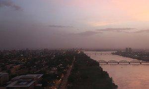 Vue aérienne de Khartoum, capitale du Soudan (photo d'archives).