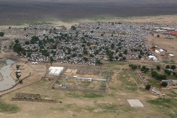 Mtazamo wa mji wa Rann, jimbo la Borno, Kasakzini-Mashariki mwa Nigeria. Julai 5, 2018